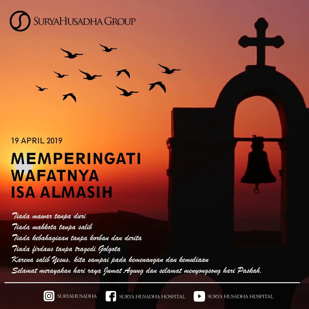 Memperingati Wafatnya Isa Almasih